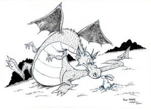 Un dragon, un lapin