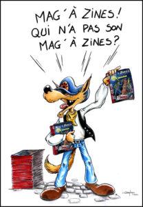 Qui veut le dernier Mag'À Zines ?