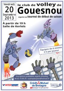 Tournoi volley Gouesnou