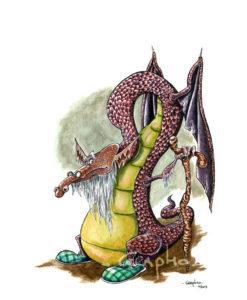 Un vieux dragon