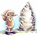 Menhir et Elfe